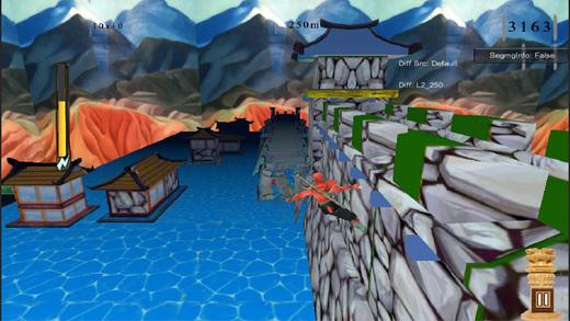 Blood Man Revenge 3D Race Game Screenshot 1
