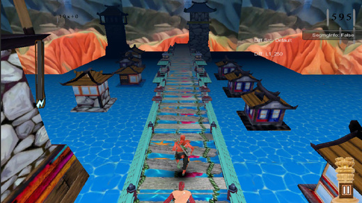 Blood Man Revenge 3D Race Game Screenshot 2